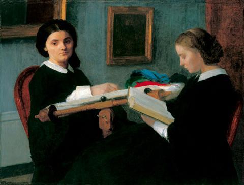 Las dos hermanas o Las bordadoras (1859)